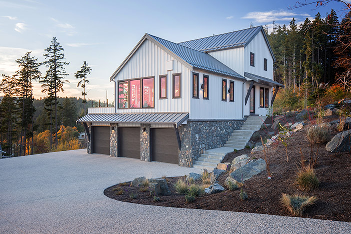 Pelican Drive, Victoria BC Custom Home Construction